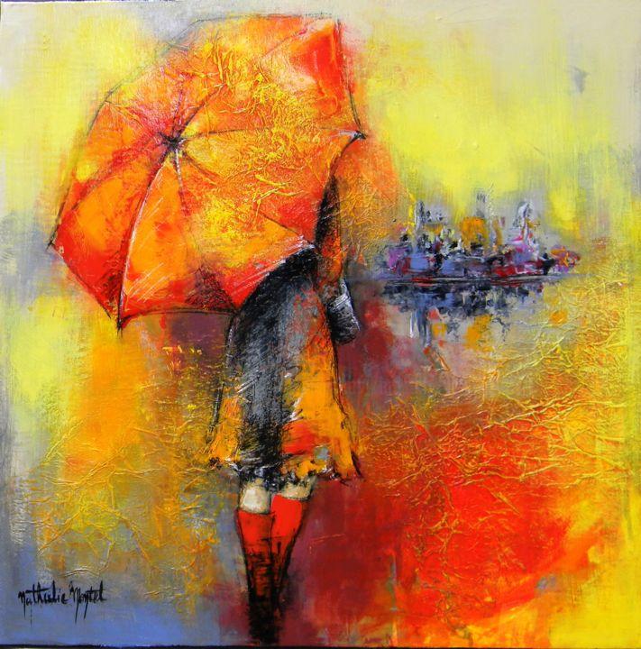 Les bottes rouges.Nathalie Montel