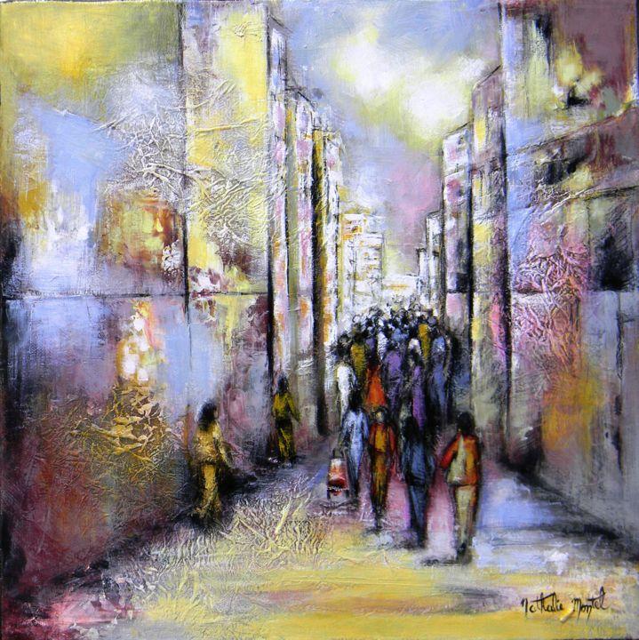 Dans la rue.Nathalie Montel