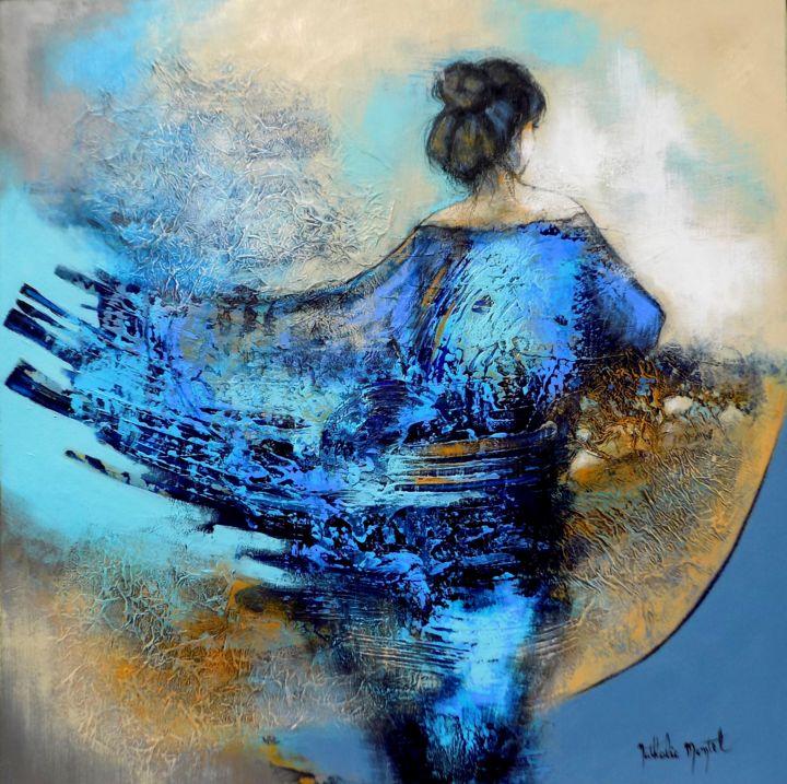 Horizon lointain.Nathalie Montel