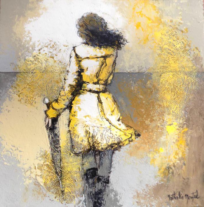 En partance.Nathalie Montel