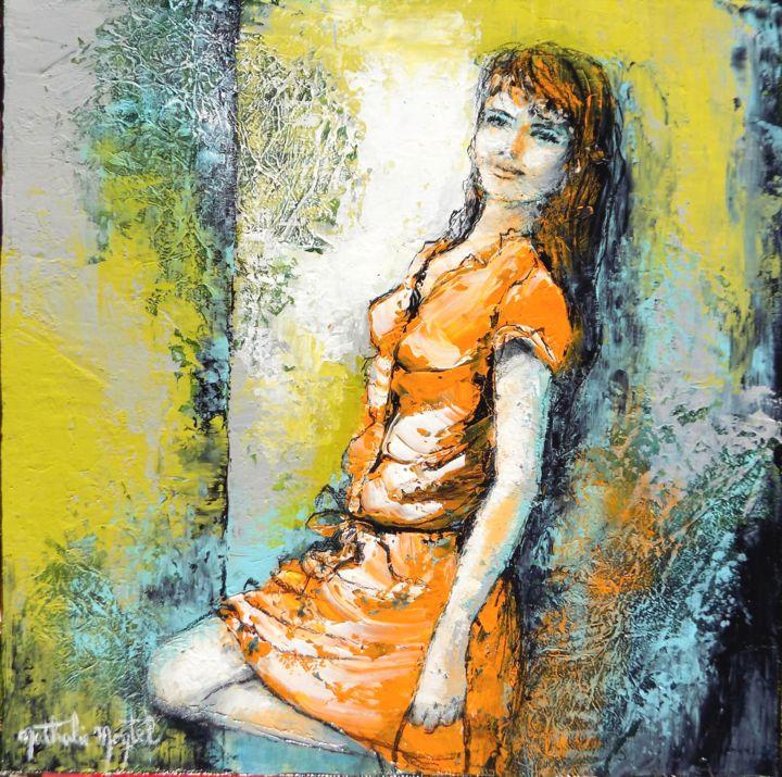 Au pied du mur.Nathalie Montel