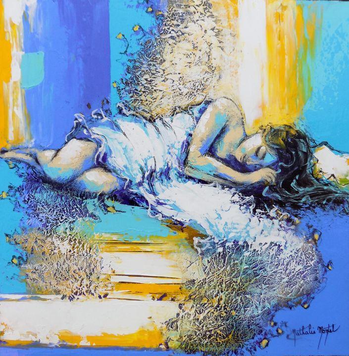 muse endormie.Nathalie Montel