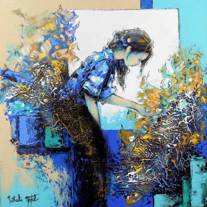 Nathalie Montel - la fleuriste.Nathalie Montel